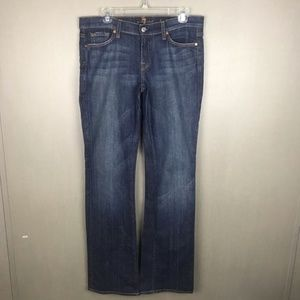 7FAM Boot Cut Jeans Size 30